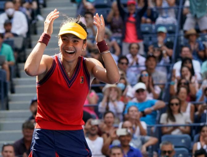 Emma Răducanu, US Open