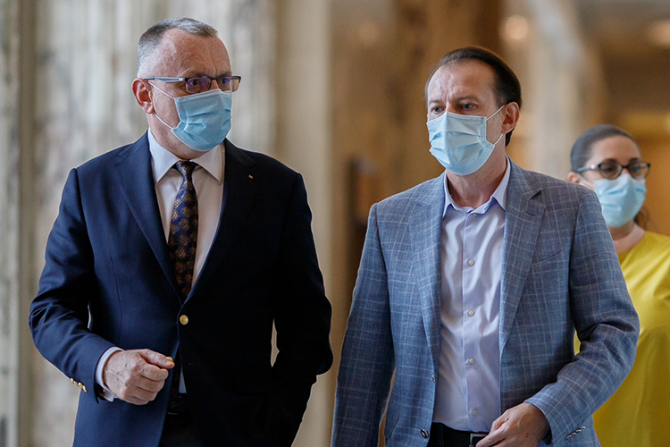 Florin Cîțu și Sorijn Cîmpeanu