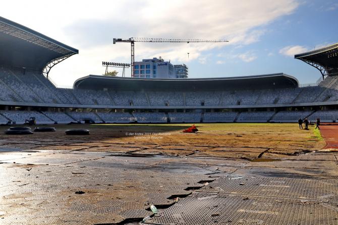 Stadionul Cluj Arena după festivalul UNTOLD / Foto: Transilvania Reporter