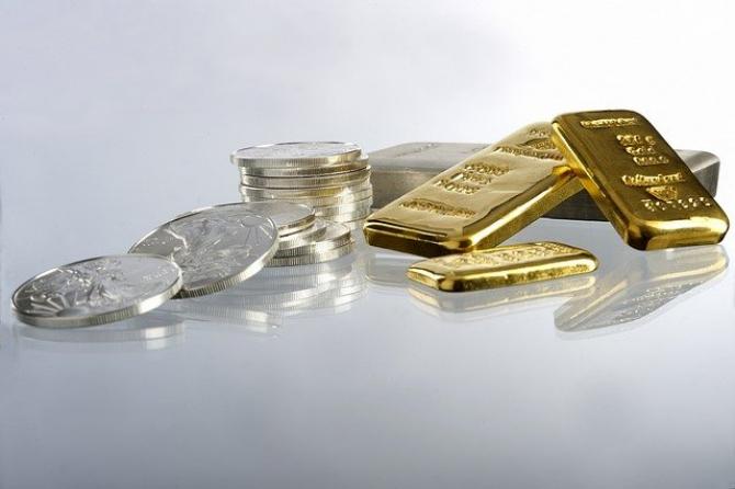 Aurul și argintul pierd din valoare de aproape două săptămâni
