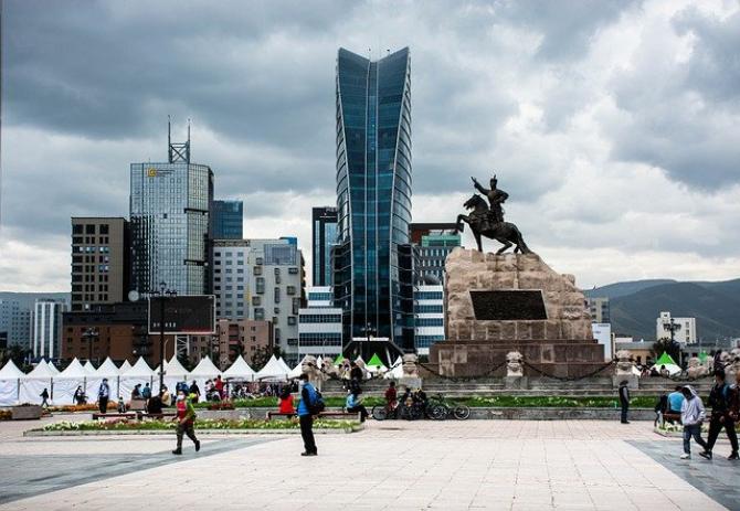 Ulaanbaatar, capitala Mongoliei