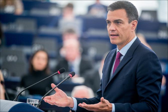 Premierul Spaniei Pedro Sanchez