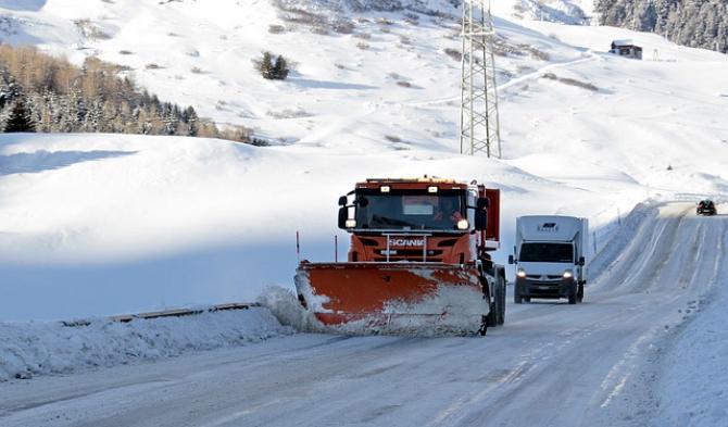 Drumarii au cerut utilaje de deszăpezire