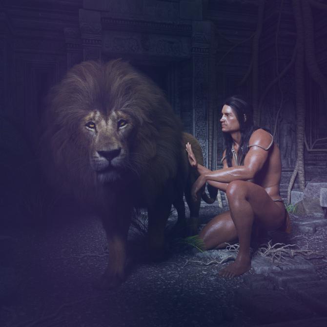 """Cum arată """"Mowgli"""" în viața reală. Tăiește mai mult în PĂDURE (VIDEO)"""