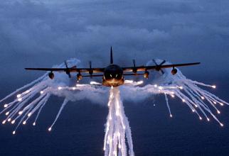 Un MC-130, în acțiune