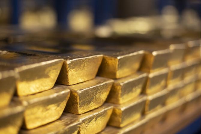 Prețul aurului aproape că se va dubla în numai câteva luni