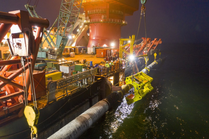 Prima linie a conductei Nord Stream 2 a fost umplută cu gaze pentru export