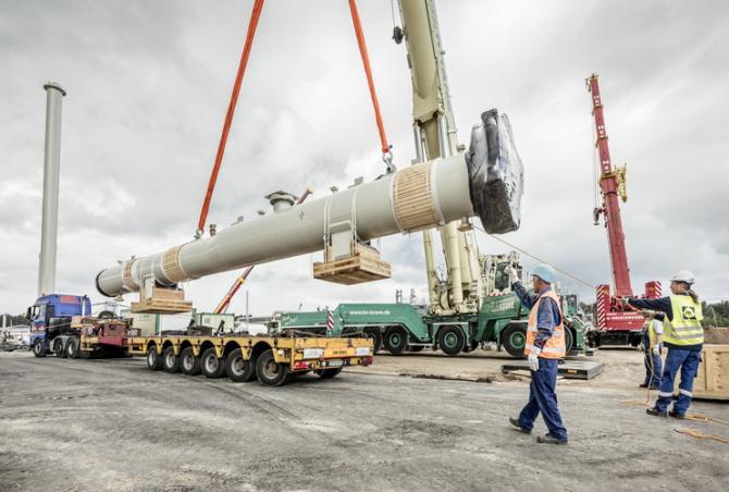 Lucrările de instalare a conductelor Nord Stream 2 au fost finalizate la 6 septembrie