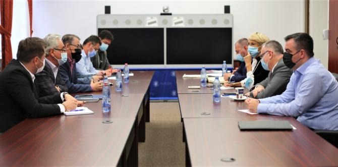 Întâlnirea sindicatelor din învățământ cu miniștrii Muncii și Educației