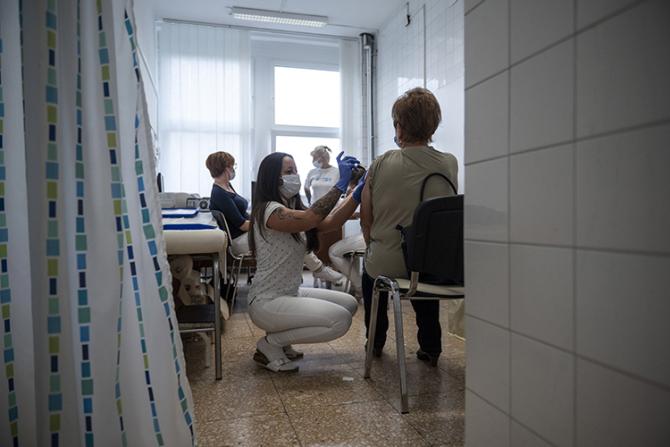 În Ungaria ipopulația s-a vaccinat masiv
